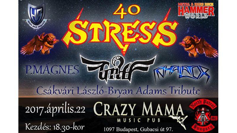 40 éve állandó stresszben zenélnek