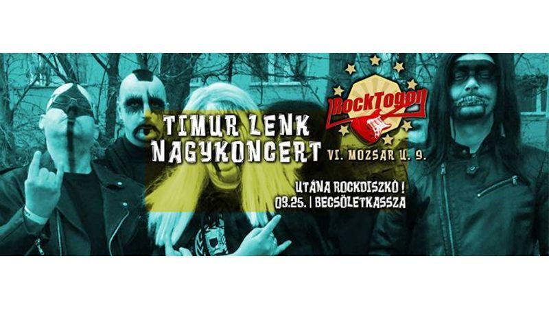 Becsületkasszás Timur Lenk-koncert a Rocktogonban