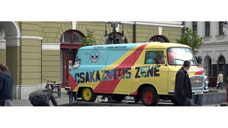 Heves szezonnyitó buli Barkas-felvezetéssel: FesztEger