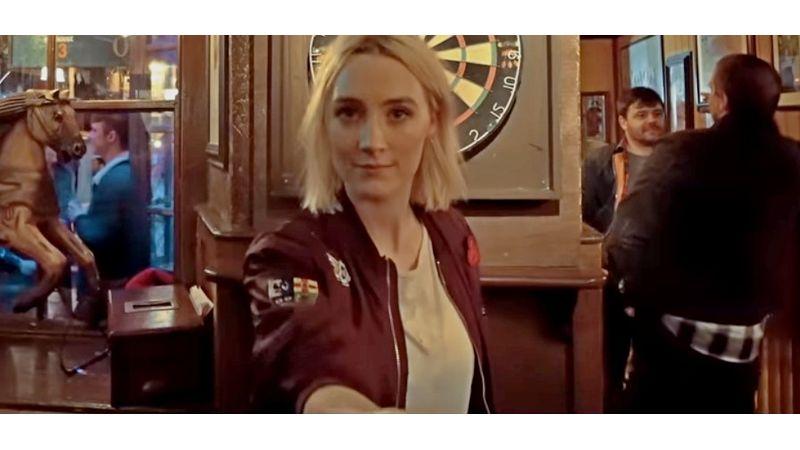 Az ír származású színésznő bevitte az ír éjszakába Ed Sheerant