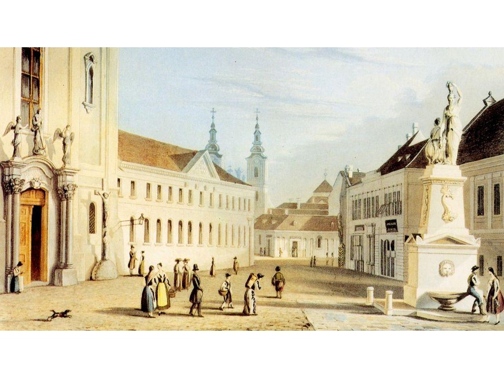 Belvárosi (Pesti) Ferences templom (Alcantarai Szent Péter-templom) - Budapest, Ferenciek tere