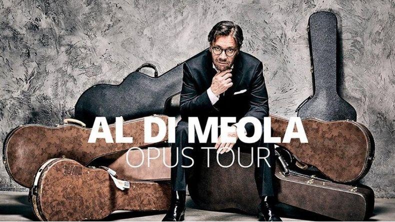 Al Di Meola Opus Tour 2019 Kiemelt események