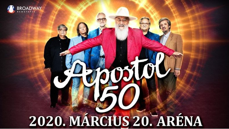 APOSTOL 50 jubileumi koncert Kiemelt események