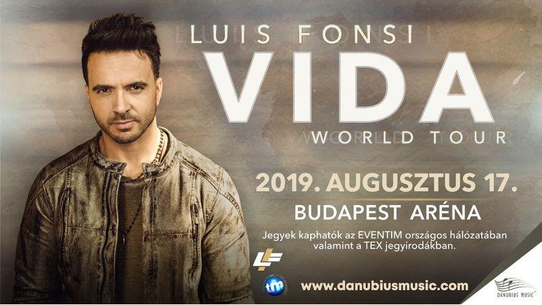 LUIS FONSI - Vida Tour 2019 Kiemelt események