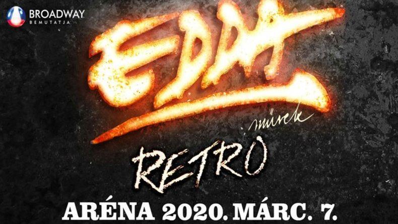 EDDA MŰVEK - Aréna koncert 2020 Kiemelt események