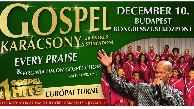 GOSPEL KARÁCSONY Every Praise & Virginia Union Gospel Choir Kiemelt események
