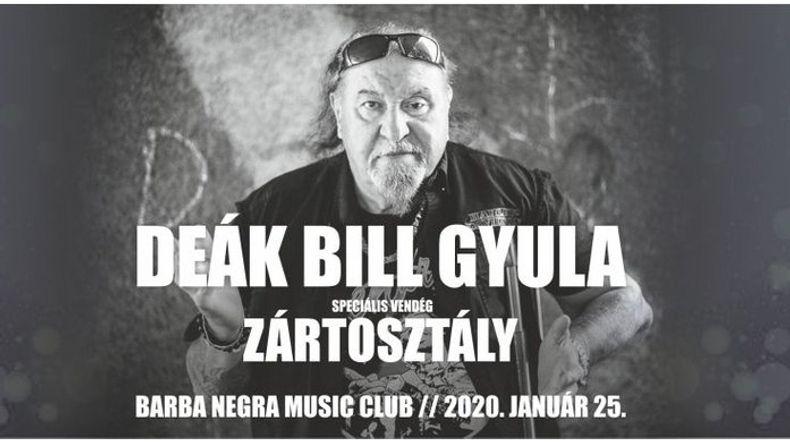 Deák Bill Gyula Kiemelt események