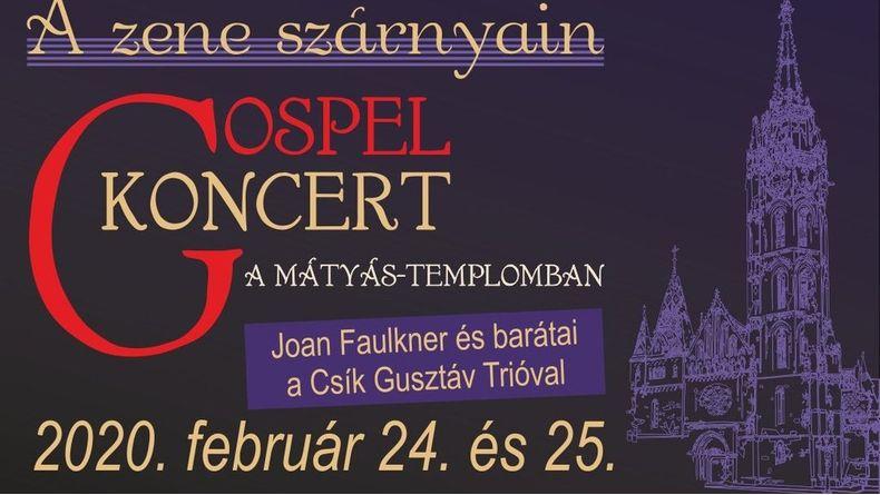 Gospel koncert a Mátyás-templomban Kiemelt események