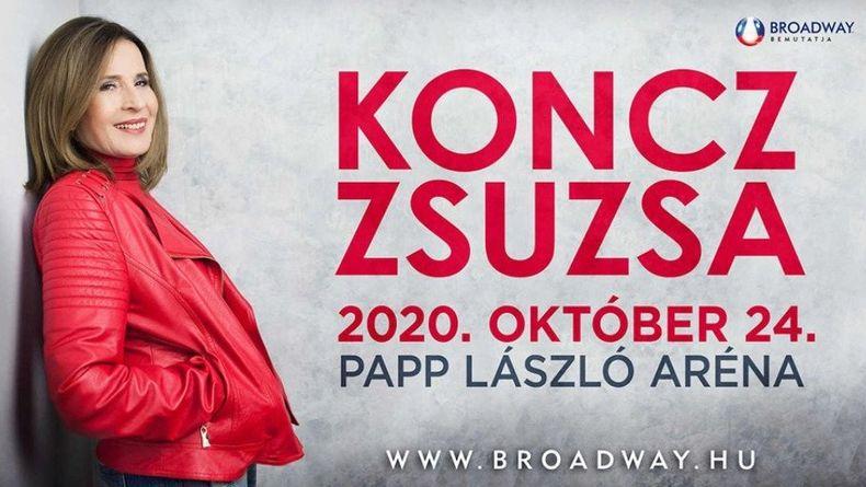 KONCZ ZSUZSA koncert - 2020 Kiemelt események