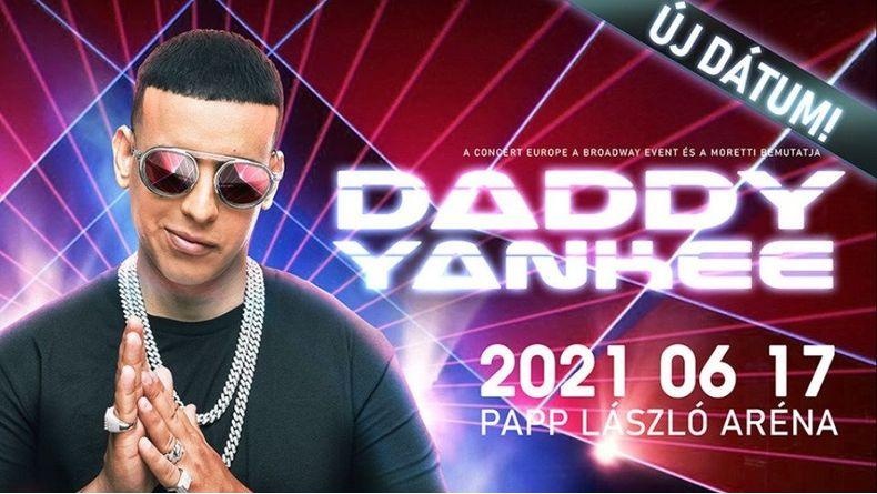 ÚJ IDŐPONT!!! - Daddy Yankee Kiemelt események