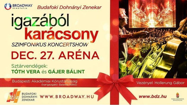 Igazából karácsony - Szimfonikus koncertshow 2021. Kiemelt események