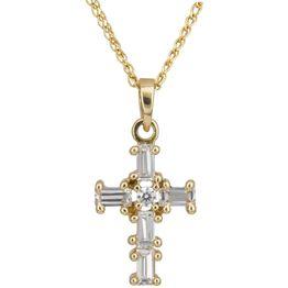ΓΥΝΑΙΚΕΙΟΣ ΣΤΑΥΡΟΣ C012932 012932C Χρυσός 14 Καράτια