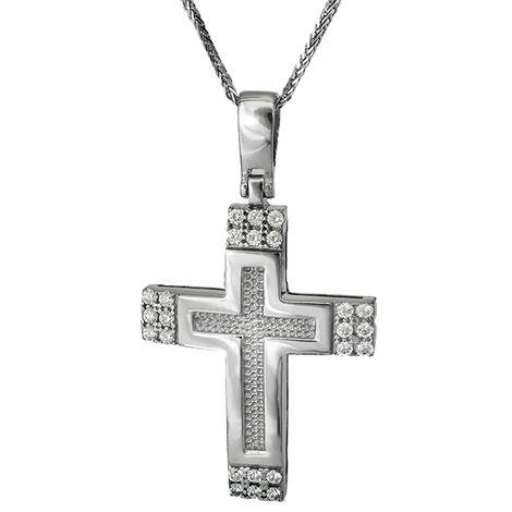 Βαπτιστικοί Σταυροί με Αλυσίδα ΒΑΠΤΙΣΤΙΚΟΙ ΣΤΑΥΡΟΙ ONLINE C016175 016175C Γυναικείο Χρυσός 14 Καράτια