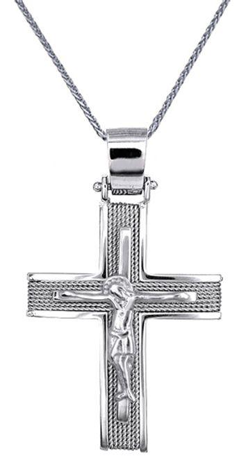 Βαπτιστικοί Σταυροί με Αλυσίδα ΣΤΑΥΡΟΙ - ΑΛΥΣΙΔΕΣ - ΚΟΣΜΗΜΑΤΑ ONLINE C016540 016540C Ανδρικό Χρυσός 14 Καράτια
