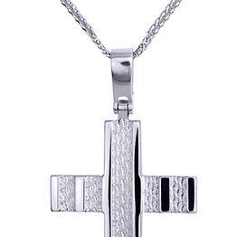 Βαπτιστικοί Σταυροί με Αλυσίδα ΒΑΠΤΙΣΤΙΚΑ ΣΕΤ - ΣΤΑΥΡΟΣ ΜΕ ΑΛΥΣΙΔΑ C16821 016821C Ανδρικό Χρυσός 14 Καράτια