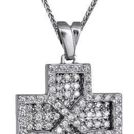Γυναικείος σταυρός 9Κ c018165 018165C Χρυσός 9 Καράτια