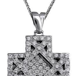 Γυναικείος σταυρός 9Κ c018166 018166C Χρυσός 9 Καράτια