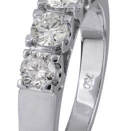 Γυναικείο δαχτυλίδι Κ18 021401 021401 Χρυσός 18 Καράτια