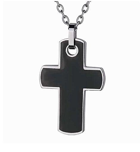 Μαύρος αντρικός σταυρός LG/558 LG/558 Ατσάλι