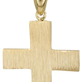 Βαπτιστικοί Σταυροί με Αλυσίδα Ανάγλυφος σταυρός για αγόρι Κ14 C023490 023490C Ανδρικό Χρυσός 14 Καράτια