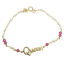 Bραχιόλι Queen για κοριτσάκι χρυσό 14K 024148 024148 Χρυσός 14 Καράτια