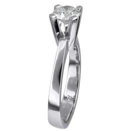 Λευκόχρυσο μονόπετρο με διαμάντι Κ18 024731 024731 Χρυσός 18 Καράτια