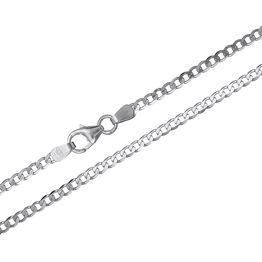 Ανδρική αλυσίδα λαιμού Κ9 σε λευκόχρυσο 030710 030710 Χρυσός 9 Καράτια