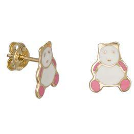 Καρφωτά σκουλαρίκια 9Κ αρκουδάκια 033541 033541 Χρυσός 9 Καράτια