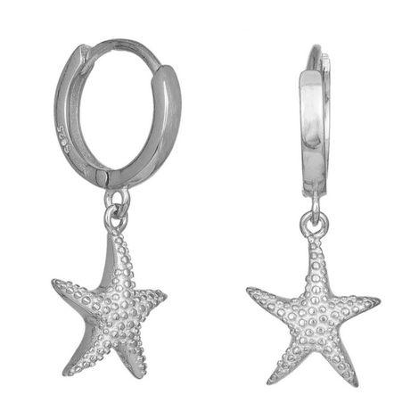 Γυναικεία σκουλαρίκια 925 Silver Starfish 036333 036333 Ασήμι