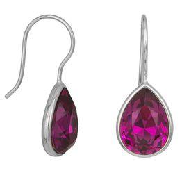 Ασημένια σκουλαρίκια 925 Purple Drops 038236 038236 Ασήμι