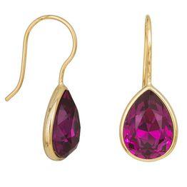 Γυναικεία σκουλαρίκια σκουλαρίκια 925 Purple Tears 038238 038238 Ασήμι