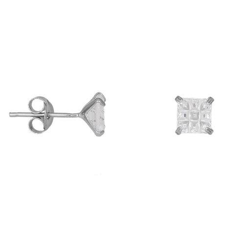 Ασημένια πετράτα σκουλαρίκια 925 038923 038923 Ασήμι