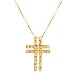 ΓΥΝΑΙΚΕΙΟΣ ΣΤΑΥΡΟΣ c015191 015191C Χρυσός 14 Καράτια