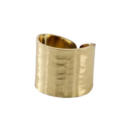 Abbie δαχτυλίδι επίχρυσο 272012024 272012024 Ορείχαλκος