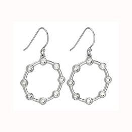 Κρεμαστά ασημένια σκουλαρίκια Vogue με ζιργκόν 925 5953203 5953203 Ασήμι