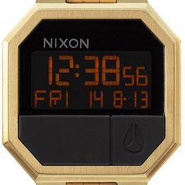 Ρολόι χειρός Nixon Digital Re Run Gold Bracelet A158-502 A158-502 Ατσάλι