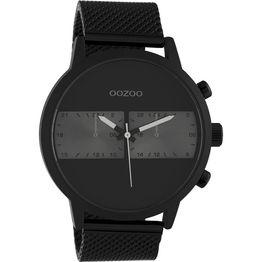 Ρολόι αντρικό Oozoo Timepieces Black Leather Strap C10514 C10514