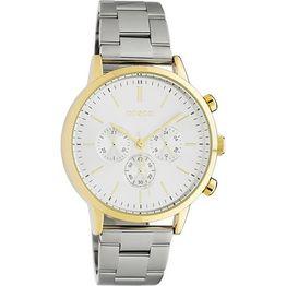 OOZOO Timepieces Ladies Two Tone Metallic Bracelet C10561 C10561
