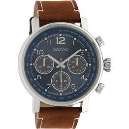 Αντρικό ρολόι Oozoo Timepieces Brown Leather Strap C10671 C10671
