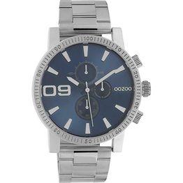 OOZOO Timepieces Ρολόι Χρονογράφος με μεταλλικό μπρασελέ C10705 C10705