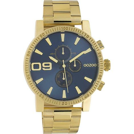 OOZOO Timepieces Chronograph Gold Metallic Bracelet C10707 C10707