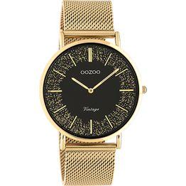 OOZOO Vintage Ladies Rose Gold Metallic Watch C20138 C20138