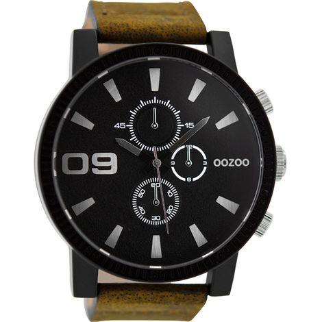 OOZOO XXL Brown Leather strap C9033 C9033
