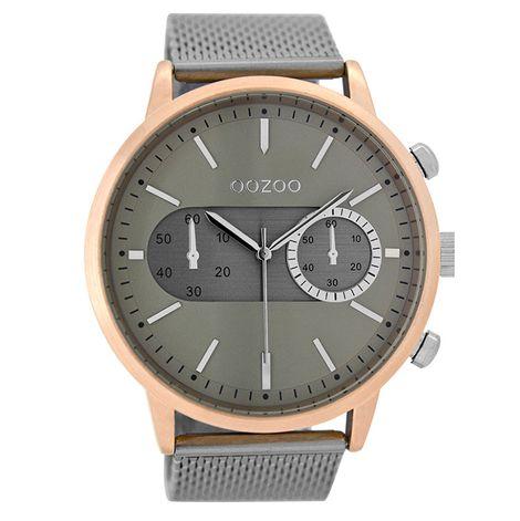 Αντρικό ρολόι OOZOO Silver bracelet C9072 C9072