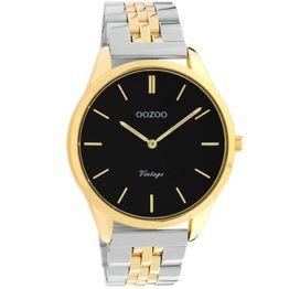 OOZOO Vintage Two Tone Stainless Steel Bracelet C9890 C9890