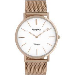 Γυναικείο ρολόι OOZOO Rose gold bracelet C9917 C9917