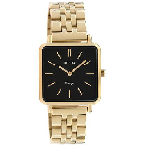OOZOO ρολόι Metallic Gold Bracelet Black C9957 C9957