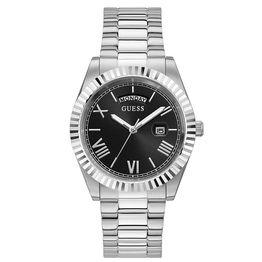Men's Timepiece Guess Connoisseur with Silver Bracelet GW0265G1 GW0265G1 Ατσάλι