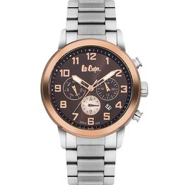 Lee cooper multifunction Silver bracelet LC06219.540 LC06219.540 Ατσάλι
