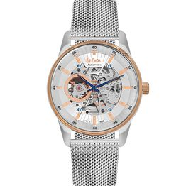 Αντρικό ρολόι Lee cooper Automatic Silver bracelet LC06424.530 LC06424.530 Ατσάλι